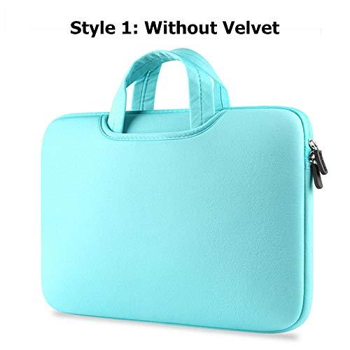 Yinghao Laptoptasche 11 12 13 14 15 15 6 Schutzhülle für Dell Lenovo HP Samsung Asus Toshiba Surface Pro Ultrabook Notebook@Hellblau_14 Zoll