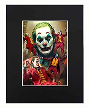 XQArtStudio Joker Movie Dope Cool Art Artworks Print Paintings Printed Picture Photograph Poster Gift Wall Decor Display Size with Matted 8x10