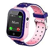 4G Kids Smart Watch,Kids Phone Smartwatch w GPS Tracker,Call,Alarm,Pedometer,Camera,SOS,Touch Screen WiFi Bluetooth Wrist Watch Boys Girls Smartphone,3-12 Years Old Children Student Birthday Gifts