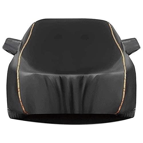 Cubre Coches Exterior Impermeable,Funda para coche Funda pequeña impermeable para coche / Compatible con Audi / S3 S4 S5 S6 S7 S8 Exterior Universal Impermeable Transpirable Relleno de algodón Full