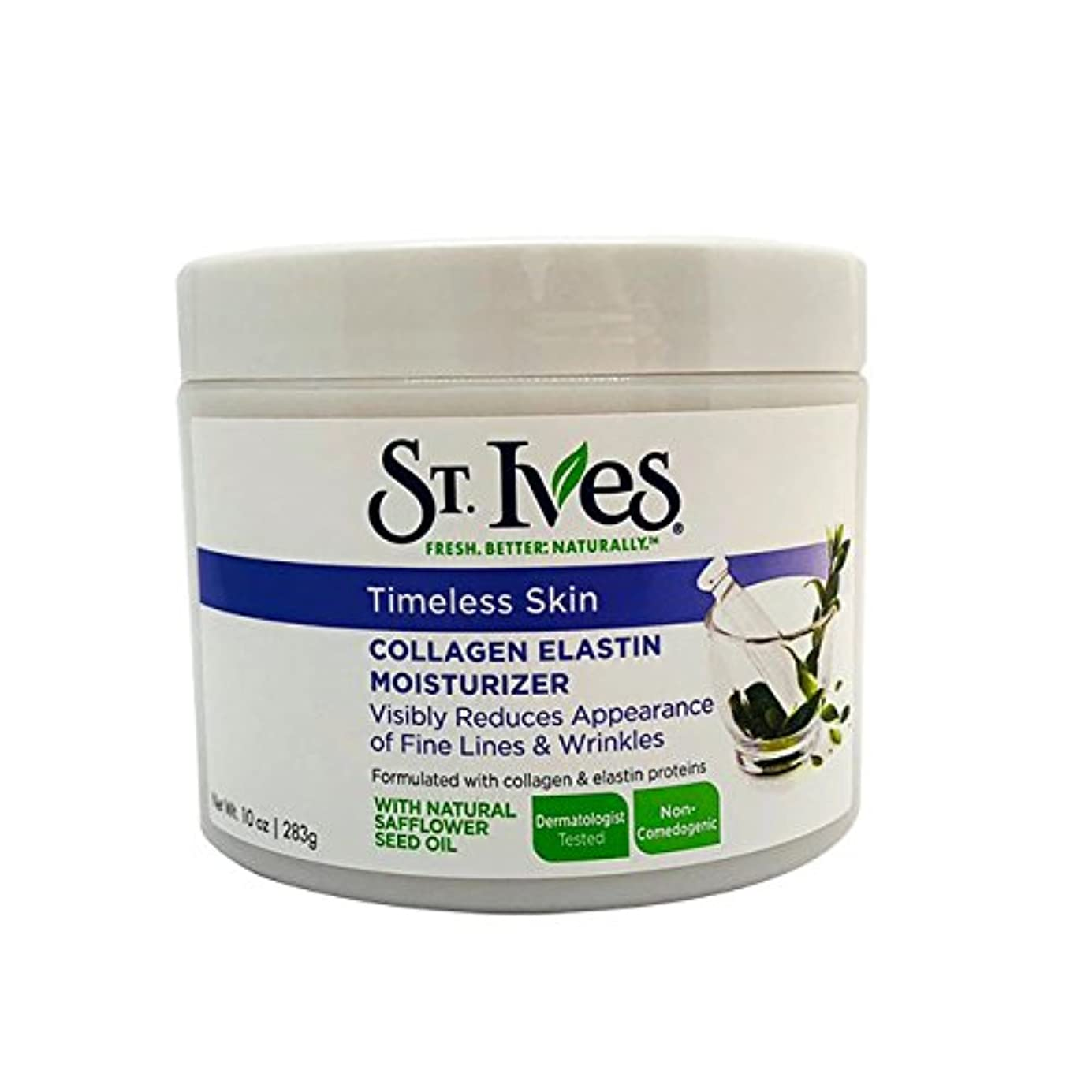 電子混乱させる和らげるSt. Ives Facial Moisturizer, Timeless Skin Collagen Elastin, 10oz by St. Ives [並行輸入品]