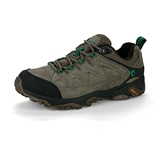 huasa Zapatillas Impermeables de Senderismo Trekking Hombre,Botas de Montaña Antideslizantes Al Aire Libre Zapatos de Deporte,Transpirable Botas Montaña Mujer,Brown-39