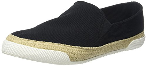Buffalo Shoes Damen 215-9749-2 Elastic Fabric Slipper, Schwarz (Black 01), 39 EU