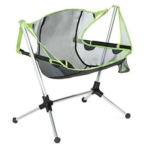 Nemo Stargaze Recliner Low Camping Chair, Birch Leaf Green