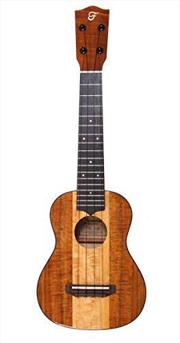 Famous (フェイマス) ソプラノ ウクレレ FSK-3MG (ハワイアンコア&マンゴー単板 国産 定番サイズ)