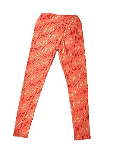 Lularoe Womens Leggings One Size Pink