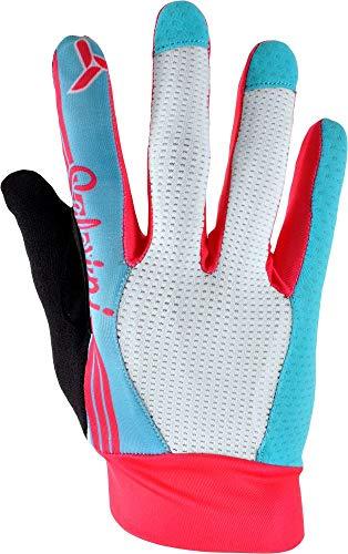SILVINI Cervo Full Finger Gloves Junior – Sky-Blush, 11-12