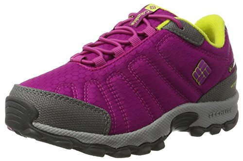 Columbia Youth Firecamp Sledder II WP, Zapatillas de Senderismo para Niñas, Rosa...