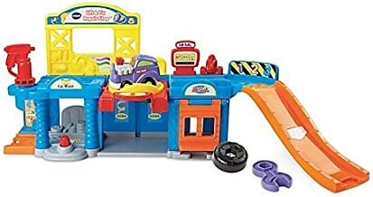 V-Tech® Go! Go! Smartwheels Lift and Fix Repair Shop Durable Colorful Pretend Play Set