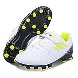 Zapatillas de Fútbol Niña 29 FG Spike Botas de Fútbo Libre Atletismo Zapatos de Entrenamiento Profesionales Césped Artificial Zapatos de Fútbol...
