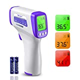 Boriwat Forehead Thermometer Non-Contact Infrared Forehead Thermometer Temperature Gun Precision Digital Thermometer for Fever Instant Reading Medical Thermometer for Adults, Baby Kids