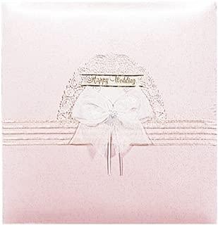 ナカバヤシ フエルアルバム 婚礼用 ハッピーウェディング ピンク ア-LK-308-P