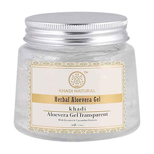 Khadi Natural Ayurvedic Aloevera Gel (Transparent), 200g