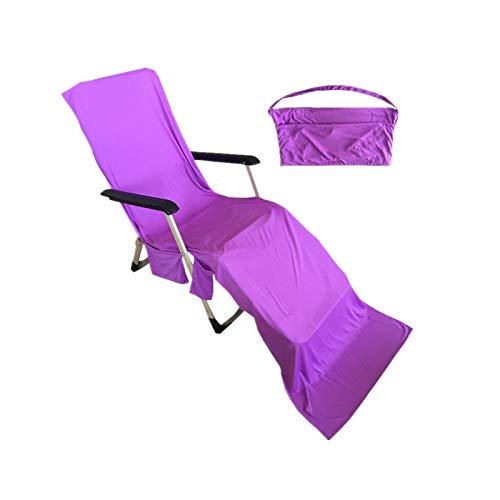 Qdreclod Telo Mare Microfibra, Portatile Asciugamano Mare - Asciugatura Veloce/più Tasche/Ultra Absorbent/Leggero, Ideale per Asciugamano Sportivo, Asciugamano da Viaggio, Asciugamano da Bagno