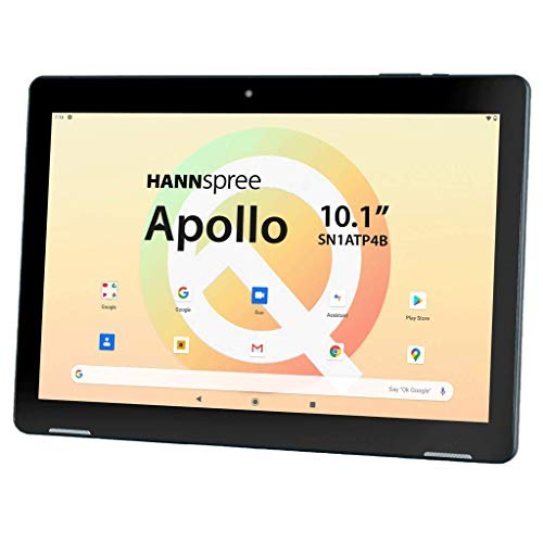 Hanns-G 10.1 Inch Apollo Pad with 32 GB Internal Storage, Bluetooth 5.0, Dual Camera and Protective Case Included - Black