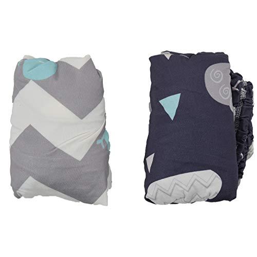 Gesh Cambiador de pañales para bebé, suave, impermeable, colchón, sábana, colchón, funda para cambiador