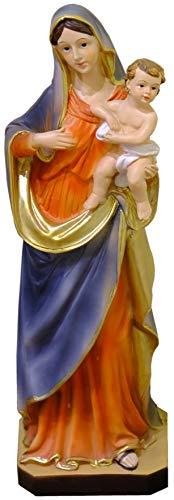 Kaltner Präsente Geschenkidee - Deko Figur Mutter Gottes Maria Madonna mit Jesus Kind