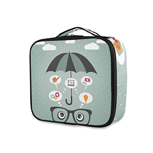 Toilettas informatieveiligheid paraplu eye organizer reisgereedschap cosmetica trekkoffer opbergetui draagbaar
