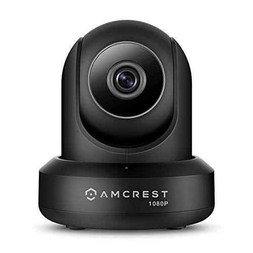 Amcrest ProHD 1080P WiFi IP cámara de Seguridad inalámbrica – 1080P (1920TVL), IP2M-841 (Plata), Funciona con Alexa