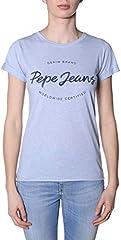 Pepe Jeans Camiseta de Manga Corta Erin Blanco para Mujer