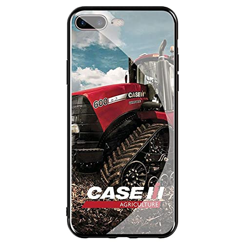 Compatible with Funda iPhone 7 & Funda iPhone 8 Tempered Glass Phone Case Cover I h Logo Case_Mode_146