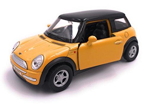 H-Customs Mini Cooper Modellauto Miniatur Auto Lizenzprodukt 1:34 zufällige Farbauswahl