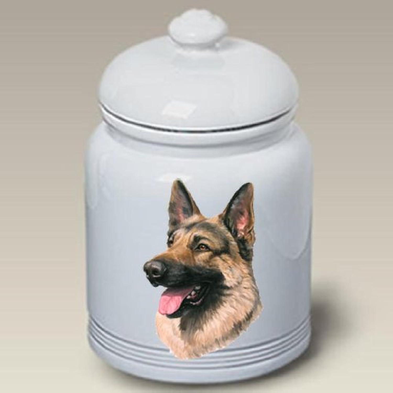 German Shepherd Dog  Linda Picken Treat Jar
