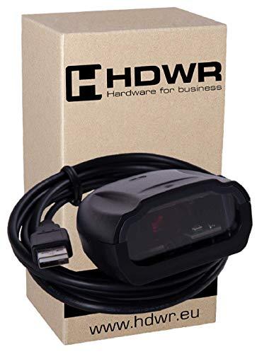 Fixe USB Professional automatique scanner de codes-barres, lecteur de codes, Noir avancée très rapide, HD-S80