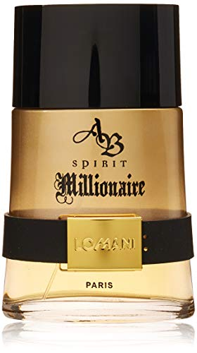 Lomani Ab Spirit Millionaire By Lomani for Men - 6.6 Oz Edt Spray, 6.6 Oz, brown