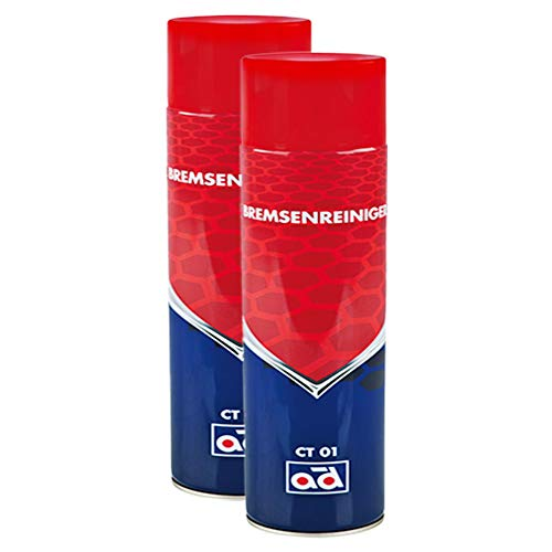AD Chemie 2X Bremsenreiniger Ct 01 600ml Spraydose Spray Kanister Bremsenreinigung Scheiben Trommel Scheibenbremse Trommelbremse 4050561k