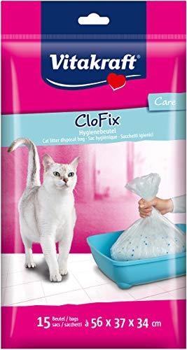 Vitakraft Clo Fix für Katzenstreu, 15 Stück