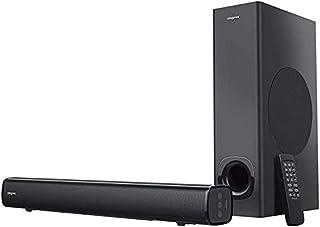 مكبر صوت ساوند بار 2.1 قناة بقدرة 160 واط يثبت اسفل الشاشة مع مضخم صوت للتلفزيون والكمبيوتر والشاشات العريضة بخاصية البلوت...