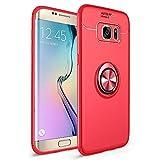 Avalri Funda Galaxy S7 Edge, Shockproof Anti-rasguños Ultra Delgado TPU con 360 Grados Giratorio Anillo Kickstand Case...
