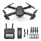 GZTYLQQ Drone portátil con cámara Dual, fotografía aérea 4k HD UAV Quadcopter Profesional WiFi Drones de Control Remoto para Adultos, Minutos Largos, Tiempo de Vuelo, Estuche de Transporte