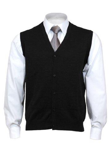 OLYMP Strick, Lang - regulär,schwarz,Größe 3XL