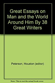 Paperback Great Essays on Man and the World Around Him By 38 Great Writers Book
