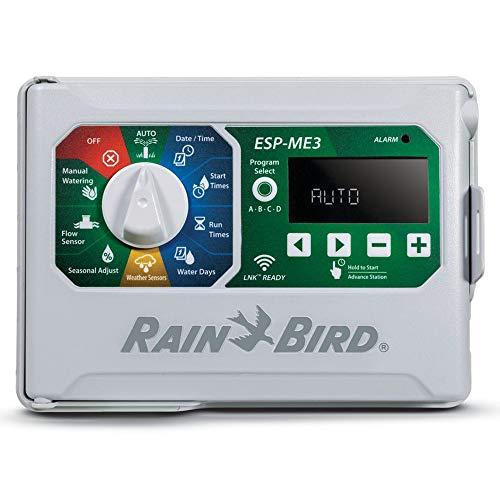 Rain-Bird Controller Indoor Outdoor Lawn Irrigation Sprinkler Timer ESPME3 (Controller Only)