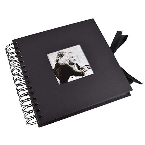 【TKY】 スクラップブッキング スクラップブック フォトアルバム アルバム プレゼント 手作り 卒業 写真 写真集 ブラック