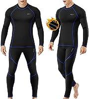 MOBIUSPHY sous-Vêtement Thermique Homme Ensemble de sous-vêtements Thermiques