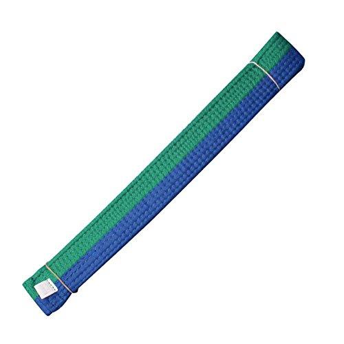 Alien Storehouse 260 cm / 102,36 Pulgadas Clasificar Artes Marciales Taekwondo Hapkido Kárate Cinturón - Verde y Azul