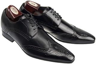[エムエムワン] シークレットシューズ メンズ ビジネスシューズ シークレット インヒール ブーツ 6~7cmアップ ドレスシューズ 紳士靴 【ZNX1LG】