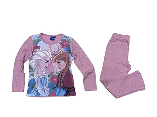 Disney Frozen Die Eiskönigin Schlafanzug rosa (128)