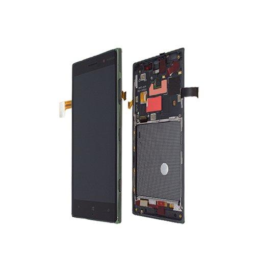 LCD DISPLAY NOKIA LUMIA 830 FULL SET DARK GREY ORIGINALE - 00812S9