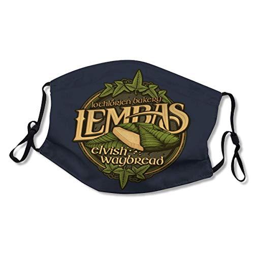 GACOZ-Lembas Bread- Extra Large Face Mask Dust Protection Reusable Washable Elastic String XL