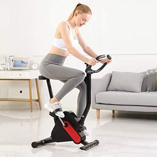 H.aetn Bicicleta estática para Interiores, Bicicleta Deportiva con Pedales, con Resistencia a la Velocidad, Equipo para Adelgazar, Bicicleta para Pedales de Interior