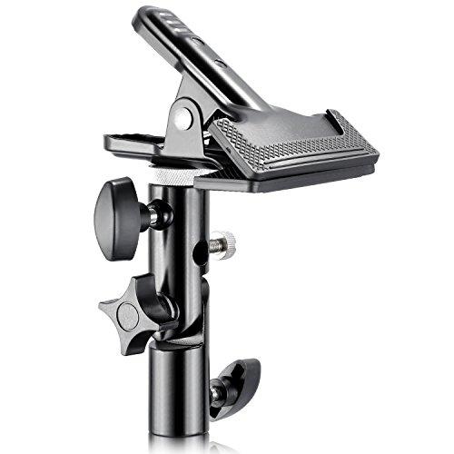 """Neewer - Pinza-Abrazadera para Soporte de Reflector de luz de Estudio de fotografía. Compatible con pies de luz de Perno de 5/8\"""""""