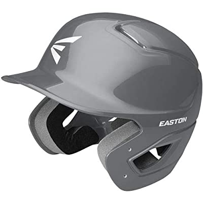 EASTON Alpha Batting Helmet | Baseball Softball | 2020 | Dual-Density Impact Absorption Foam | High Impact Resistant ABS Shell | Moisture Wicking BioDRI Liner | Removable Logo | Sizing for All Ages