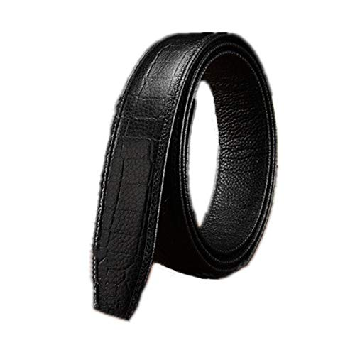 Riem voor heren Automatische Buckle Headless Men's Belt retro heren Belt Korte Vogue Casual Verstelbare Business Men Belt Zakelijke kansen, woon-werkverkeer (Color : 8, Size : 130cm)