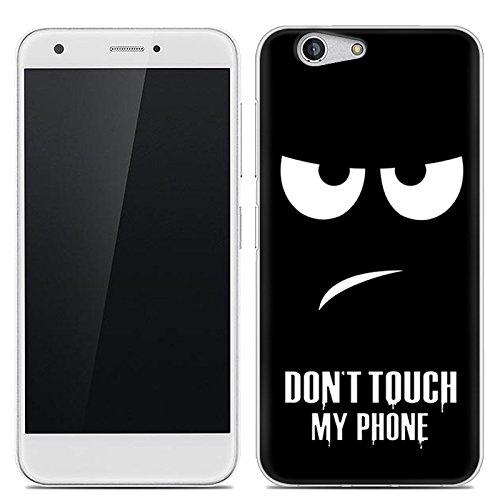 Easbuy Handy Hülle Soft Silikon Hülle Etui Tasche für ZTE Blade A512 Smartphone Cover Handytasche Handyhülle Schutzhülle