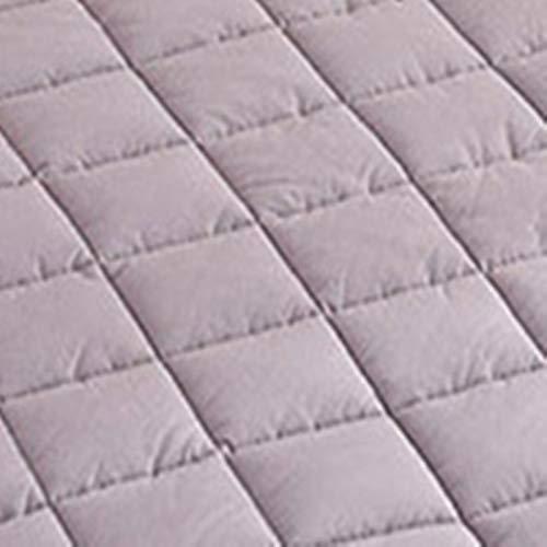 Haiba El relleno de la funda de colchón de algodón es súper suave e hipoalergénico.